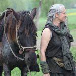 Anette Spitzl mit ihrem Pferd Flaviol