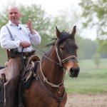 Henning Koslowski mit seinem Pferd Uranus