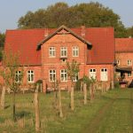 Das Wohnhaus vom Mühlenhof in Dudensen, im wunderschönen Niedersachsen