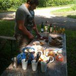 Picknick an der Düsselburg